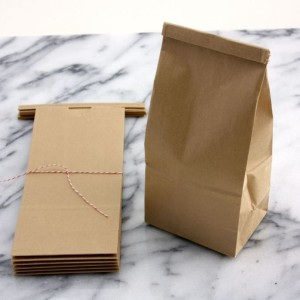 brown coffee packaging bag