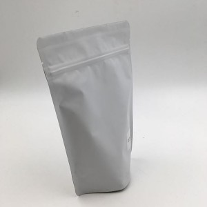 white resealable bag
